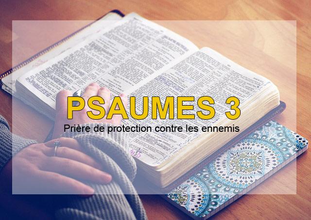 psaume 3 prière de protection