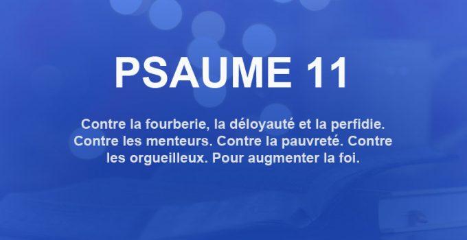 psaume 11
