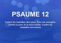 psaume 12