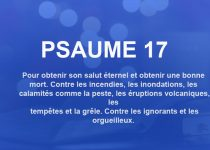 psaume 17