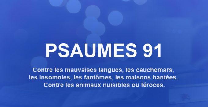 psaume 91 priere de protection contre les ennemis