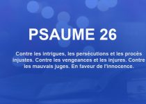 psaume 26
