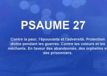 psaume 27