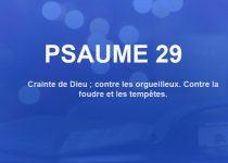psaume 29
