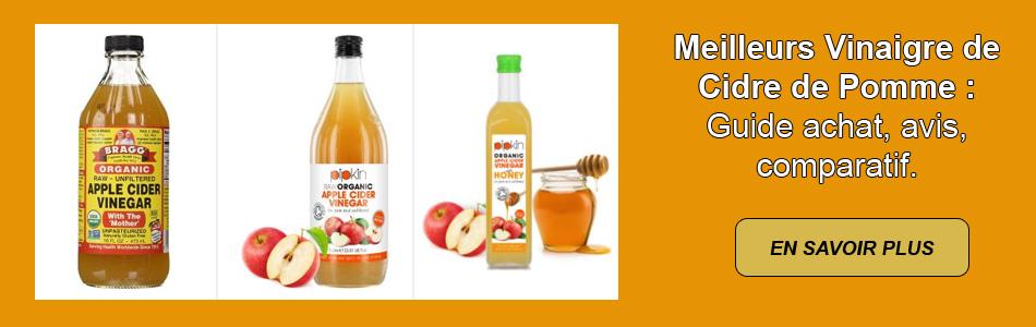 avis meilleur vinaigre de cidre de pomme