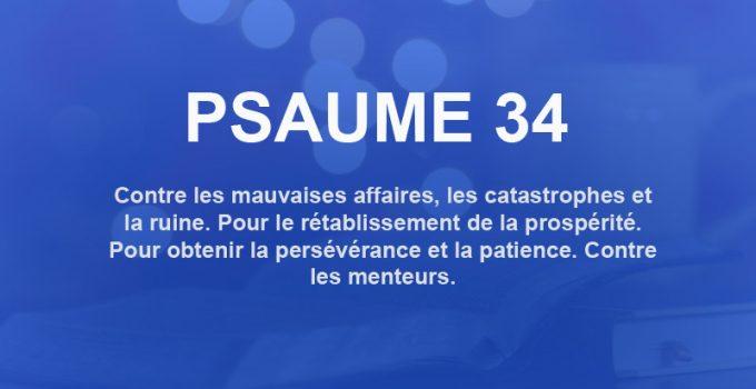 psaume 34