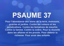 psaume 37