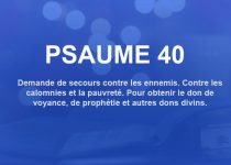 psaume 40